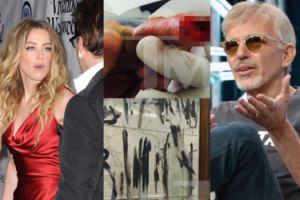 Heard ma nowe dowody na brutalność Deppa: Rozciął sobie palec i krwią napisał, że Amber ma romans!