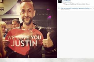 Nergal kocha Justina...
