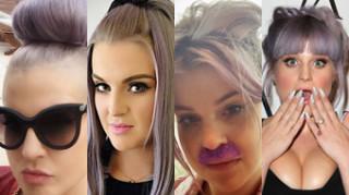 Najodważniejsze fryzury Kelly Osbourne (ZDJĘCIA)