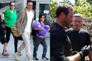"""Były ochroniarz Brada i Angeliny: """"Dla ich dzieci byłem jak ojciec"""""""
