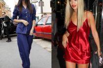 Gwiazdy w piżamach na ulicy... Ładne?