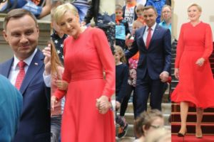 Andrzej Duda z żoną świętują Dzień Dziecka w Pałacu Prezydenckim (ZDJĘCIA)