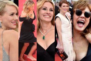 Cannes 2016: Julianne Moore, biust Susan Sarandon i Julia Roberts... bez butów! (ZDJĘCIA)