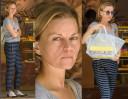 Małgorzata Foremniak bez makijażu kupuje tort (ZDJĘCIA)