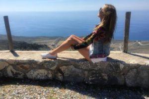 Hanna Lis odsłania nogi na planie swojego programu