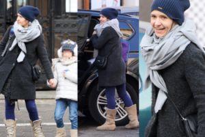 Koroniewska w nowym samochodzie odbiera córkę ze szkoły (ZDJĘCIA)