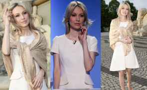 Magdalena Ogórek idzie na Debatę Prezydencką... (ZDJĘCIA)