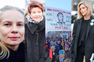 Kobiety protestują w obronie swoich praw: Ostaszewska, Janda, Rubik, Cielecka... (ZDJĘCIA)