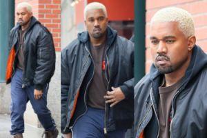 Kanye West przefarbował się na blond! Jest lepiej? (ZDJĘCIA)