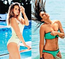 """Modelka """"XXL"""" w kostiumie kąpielowym!"""
