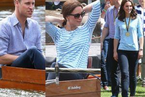 Kate i William wiosłują w Heidelbergu... (ZDJĘCIA)