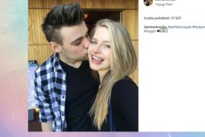 Damian Kordas chwali się miłością do Karoliny Pisarek (FOTO)