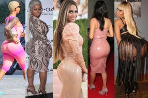 Najpopularniejsze pośladki w show biznesie. Te gwiazdy kochają je pokazywać! (ZDJĘCIA)