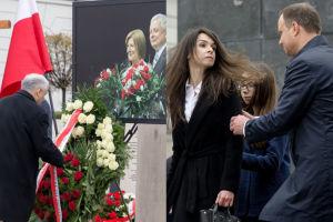 Marta Kaczyńska na 6. rocznicy katastrofy smoleńskiej (ZDJĘCIA)