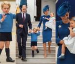 Kate, William, George i Charlotte przylecieli do Kanady (ZDJĘCIA)