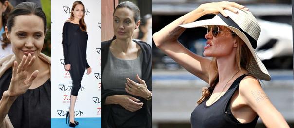 CORAZ CHUDSZA Angelina Jolie... (ZDJĘCIA)