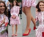 Księżna Kate w Kanadzie w stylizacji za 45 tysięcy złotych (ZDJĘCIA)