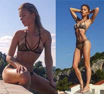 Maffashion w bikini na Hvarze