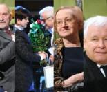 Kaczyński, Szydło i Macierewicz Z ŻONĄ (!) na benefisie Jana Pietrzaka (ZDJĘCIA)