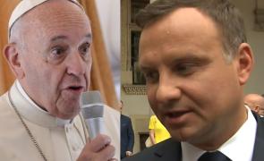 Duda po spotkaniu z papieżem: