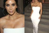 Kim Kardashian w obcisłej sukience za 3,5 tysiąca