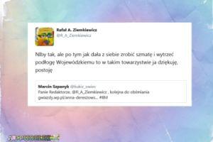 """Ziemkiewicz o Dereszowskiej: """"Dała z siebie zrobić szmatę i wytrzeć podłogę Wojewódzkiemu"""""""