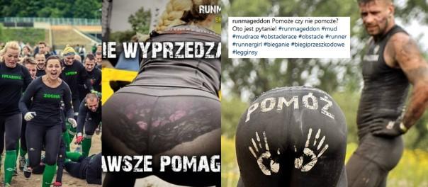 """Organizatorzy Runmageddonu """"zachęcają"""" do startu w biegu... DAMSKIMI POŚLADKAMI. """"Ogarnijcie się!"""""""