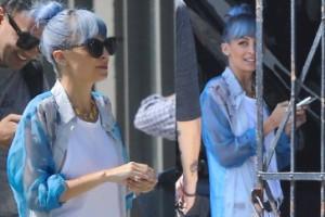 Richie zmieniła kolor włosów na NIEBIESKI! (ZDJĘCIA)