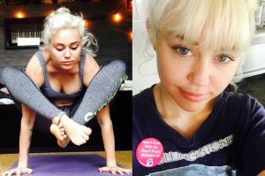 """Miley Cyrus została """"grzeczną"""" blondynką! """"Obcinanie włosów zmienia życie!"""" (FOTO)"""