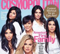 (Prawie) wszystkie Kardashianki na okładce