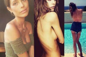 """Anorektyczna modelka broni swoich zdjęć: """"WYGLĄDAM ZDROWO!"""""""