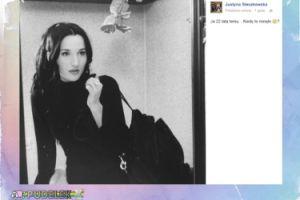 Justyna Steczkowska przypomina stare zdjęcie