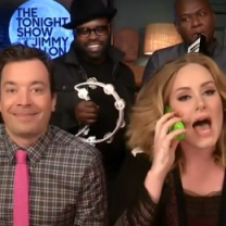 "Adele, Jimmy Fallon i The Roots śpiewają ""Hello""!"