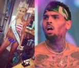 Z OSTATNIEJ CHWILI: Chris Brown zabarykadował się w willi w Los Angeles! Dom otoczył oddział SWAT!