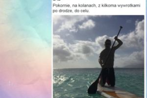 "Tomasz Lis na wakacjach: ""Pokornie, na kolanach..."""