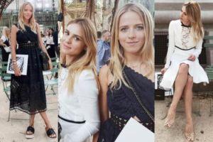 """Jessica Mercedes i Kasia Tusk razem na pokazie Chanel! """"Tak spełniają się małe, blogerskie marzenia"""" (ZDJĘCIA)"""