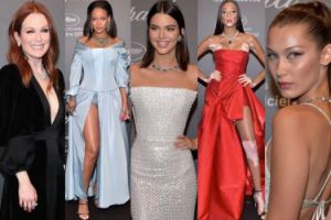 Cannes 2017: Kendall Jenner, Bella Hadid i noga Rihanny na imprezie Chopard (ZDJĘCIA)