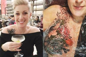 Przechytrzyła cenzurę Instagrama, żeby promować tatuaże dla kobiet po usunięciu piersi!
