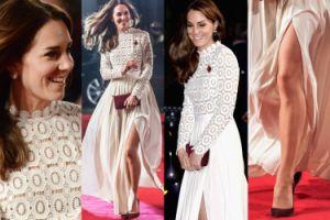 Księżna Kate odsłania nogi na czerwonym dywanie (ZDJĘCIA)