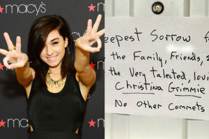 """Rodzina mordercy gwiazdy """"The Voice"""" wywiesiła oświadczenie... na drzwiach domu!"""