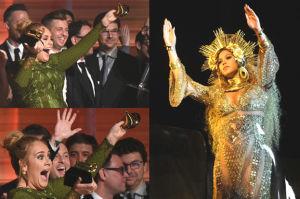 """Adele złamała statuetkę Grammy! """"Nie mogę przyjąć tej nagrody"""""""