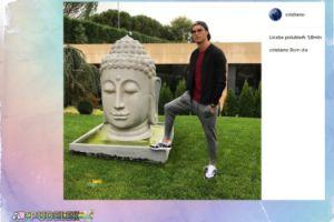 Ronaldo na posągu Buddy. Piłkarz w ogniu krytyki
