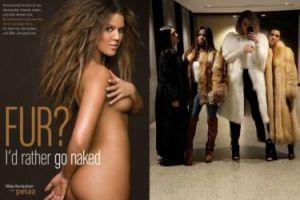 """Fani krytykują Kardashianki za zdjęcie w futrach: """"To okrucieństwo, jesteście OBŁUDNE i SAMOLUBNE. Zwierzęta cierpiały dla WASZEJ PRÓŻNOŚCI!"""""""
