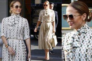 Jennifer Lopez w stylizacji za 33 TYSIĄCE na randce w Paryżu (ZDJĘCIA)