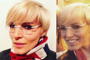 Nowe okulary Felicjańskiej. Ładnie jej?