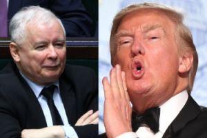 """Kaczyński nie spotka się z Trumpem w Warszawie! """"Prezes nie zabiegał i NIE BĘDZIE zabiegać o spotkanie"""""""