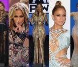 Osiem stylizacji Jennifer Lopez z rozdania American Music Awards! (ZDJĘCIA)