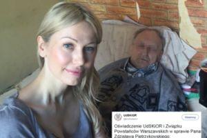 """Ogórek sfotografowała się z FAŁSZYWYM POWSTAŃCEM? """"Pan Zdzisław nie figuruje w oficjalnej bazie kombatantów"""""""