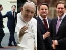Premier Luksemburga na audiencję do papieża zabrał... MĘŻA! (ZDJĘCIA)