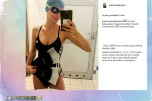 Ciężarna Paulina Sykut na basenie. Widać brzuch?